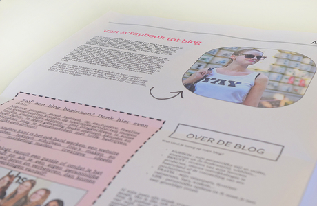 create a newspaper for your blog - Happiedays