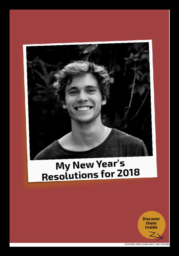 make a newspaper newspaper template new year resolutions - happiedays