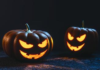 Make your own Halloween newspaper - Happiedays